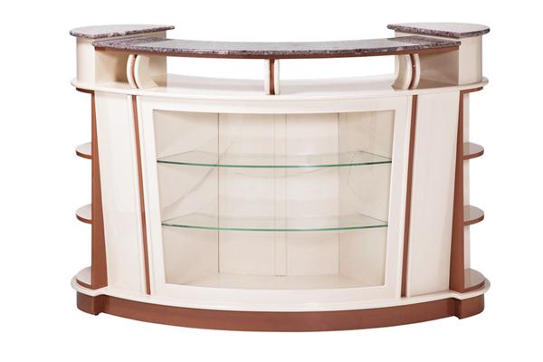 Reception Desk C 211pu Almond Cuccino 1 500 00 250