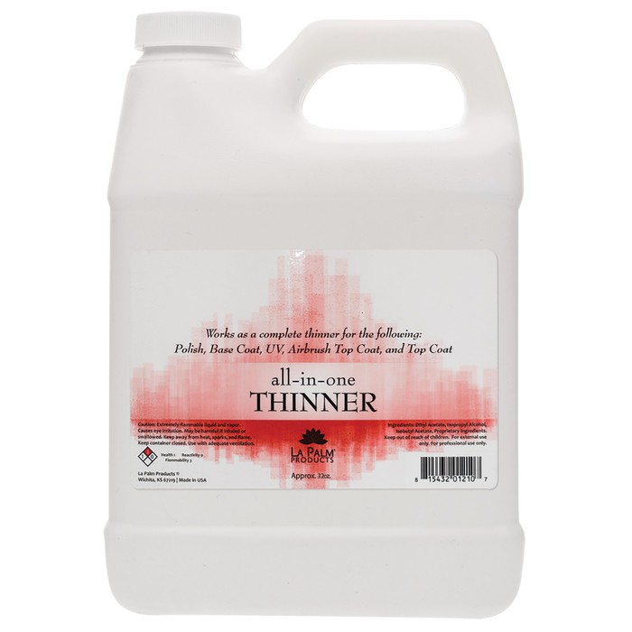 La Palm Products All-in-One Polish Thinner (Gallon Size) –