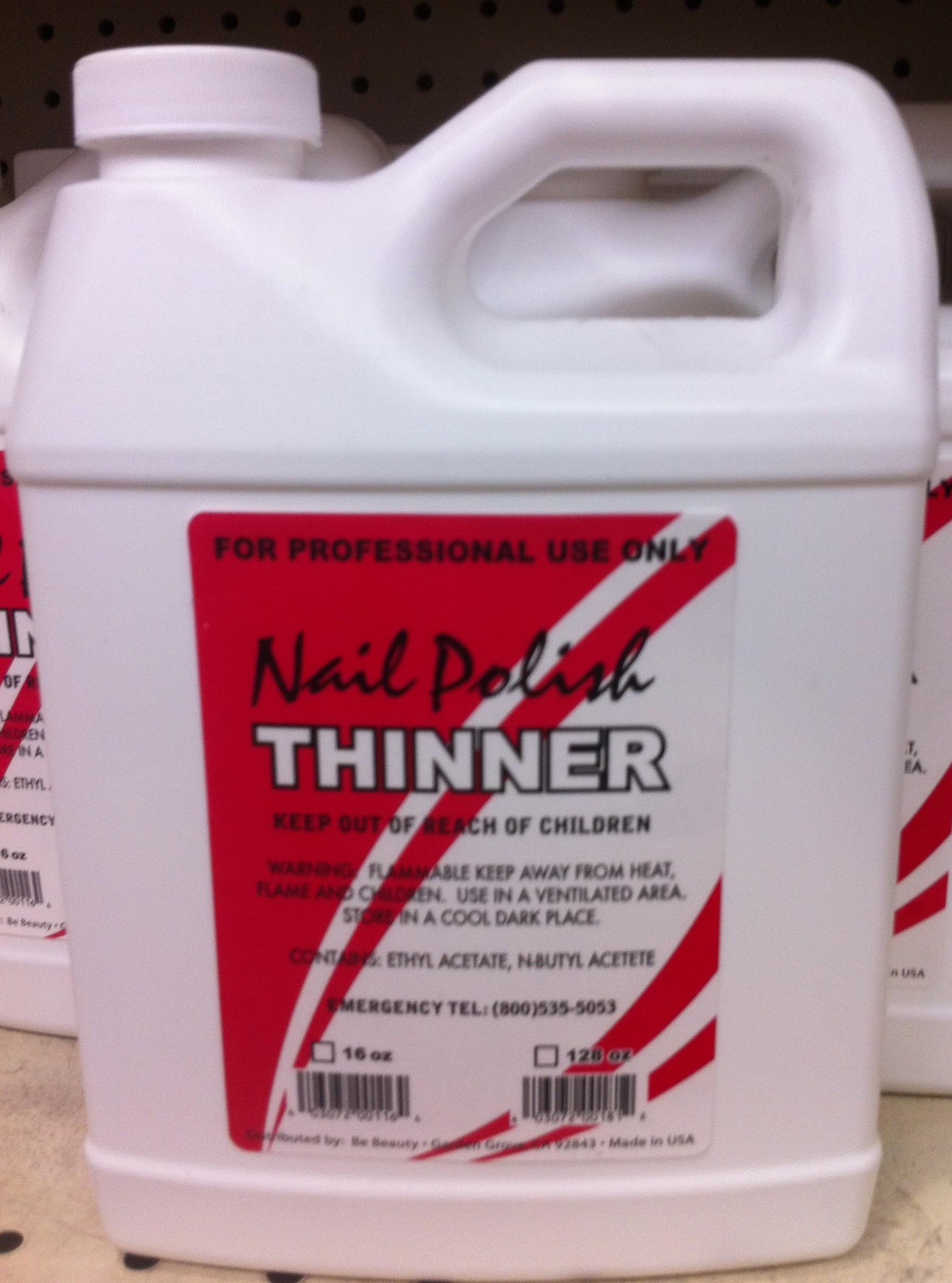 Polish Thinner