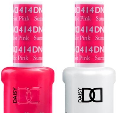 Dnd Duo Gel Summer Hot Pink 414
