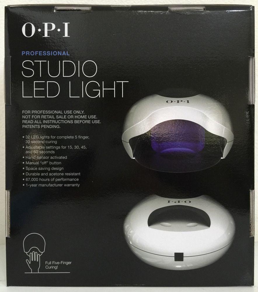 OPI STUDIO LED LIGHT – New Model, Just Release 2015