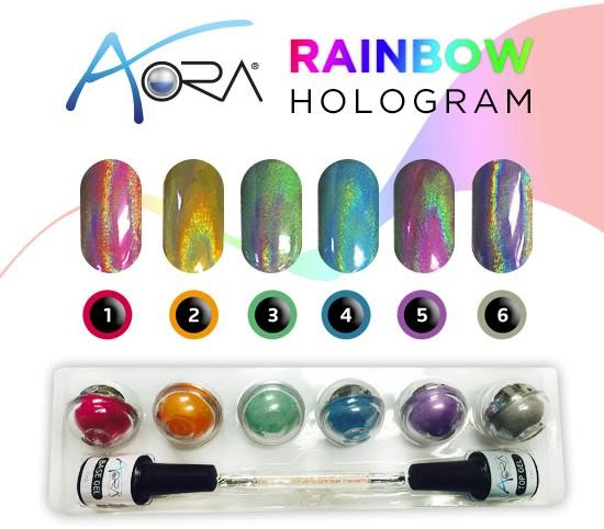 Aora Rainbow Hologram