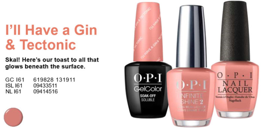 OPI Gel Iceland Collection I61 Only