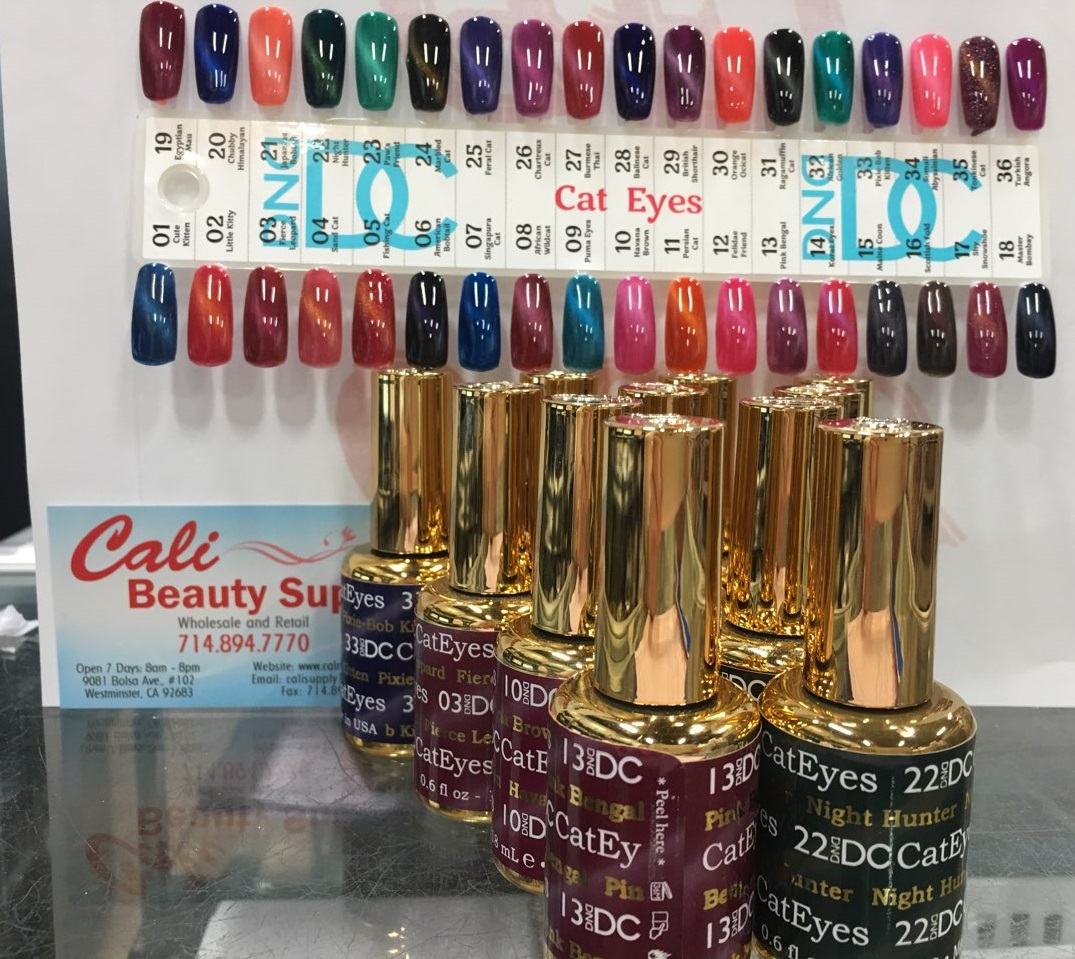 Dnd Cat Eyes Gel Collection Of All 36 Colors Free 4