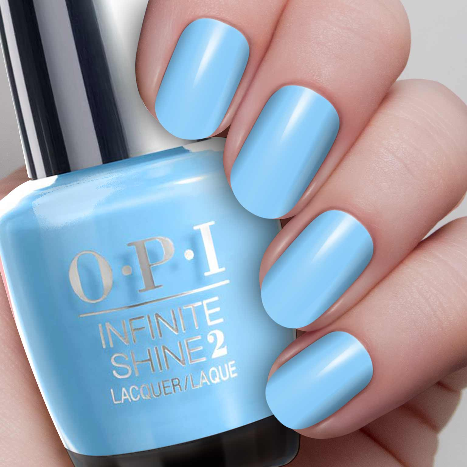 OPI Infinite Shine - To Infinity and Blue-Yond - IS L18