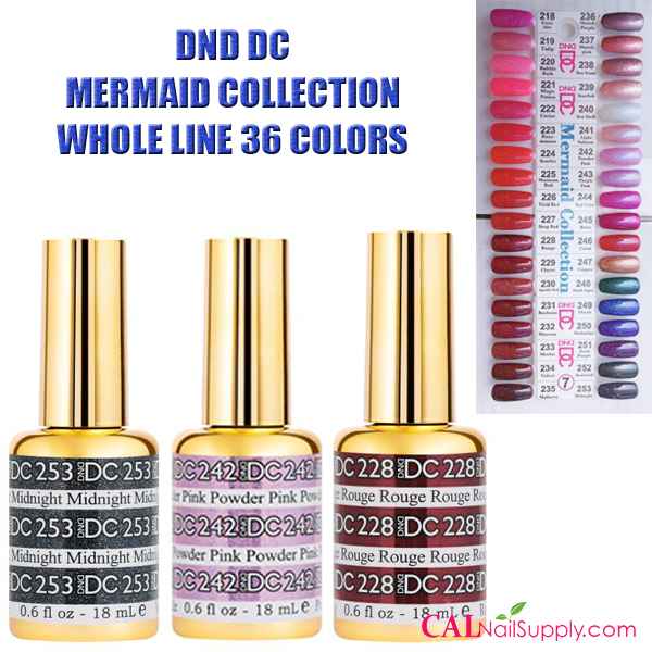 DND DC Mermaid Collection – Whole Line (36 colors)